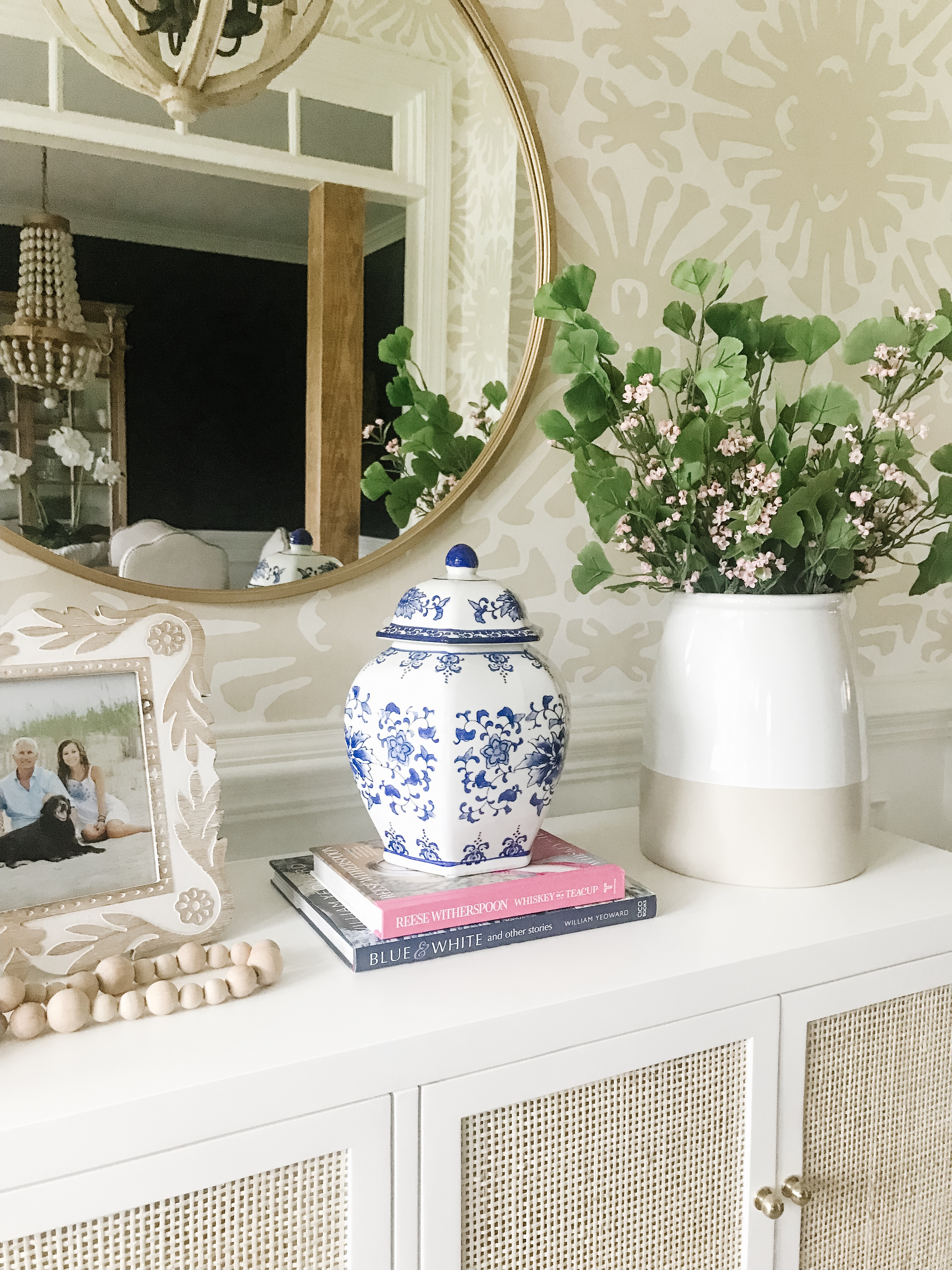 Blue White Home Accents Pop Of Pippi